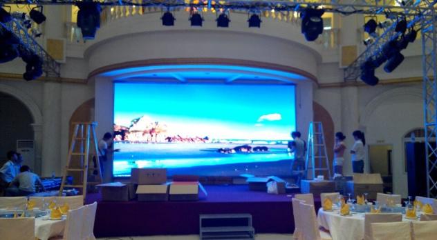 LED显示屏案例—新港大酒楼项目