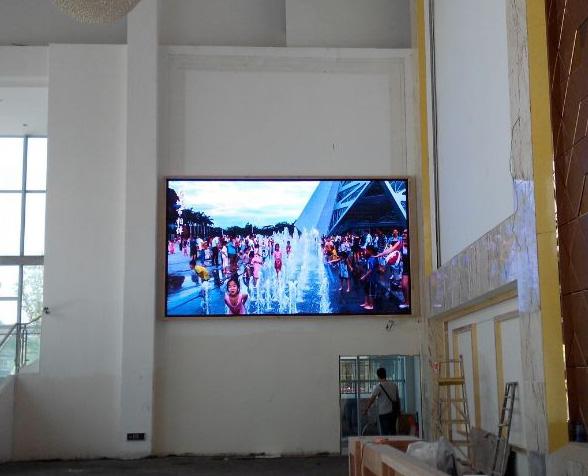 LED显示屏案例—苍溪县中升置业