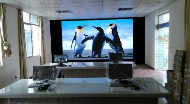 LED显示屏案例—荣县城管项目