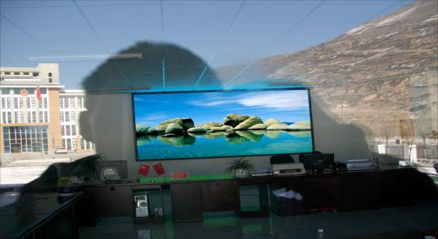 LED显示屏案例—松潘公安局室(P6室内全彩)